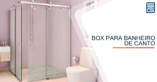 Box para Banheiro de Canto Natal
