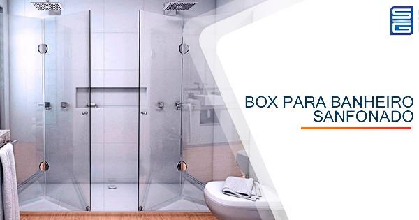 Box para Banheiro Sanfonado Natal
